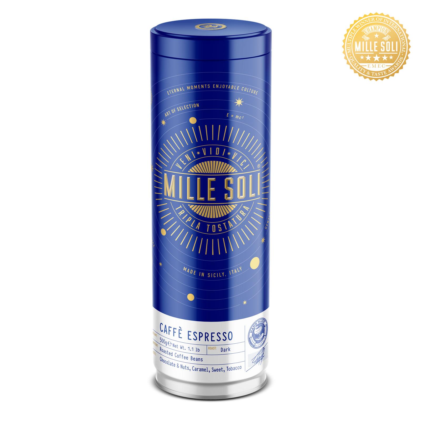 MILLE SOLI - Caffè Espresso - 500g - Bohnen