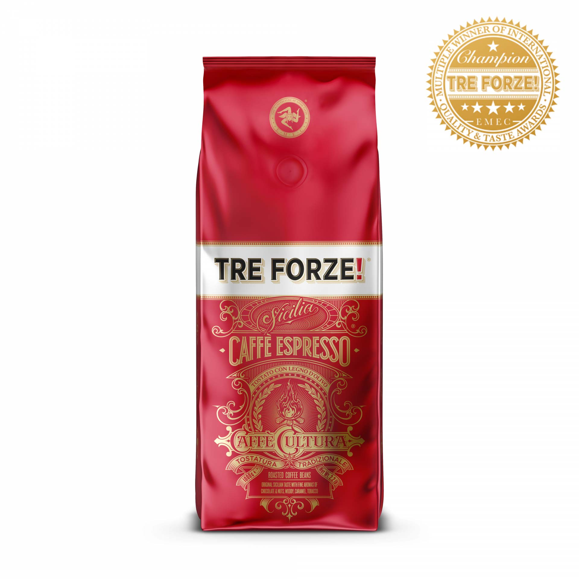 TRE FORZE! - Caffè Espresso - 1000g Bohnen