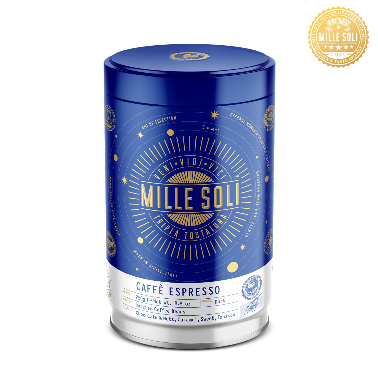 MILLE SOLI - Caffè Espresso - 250g - Bohnen
