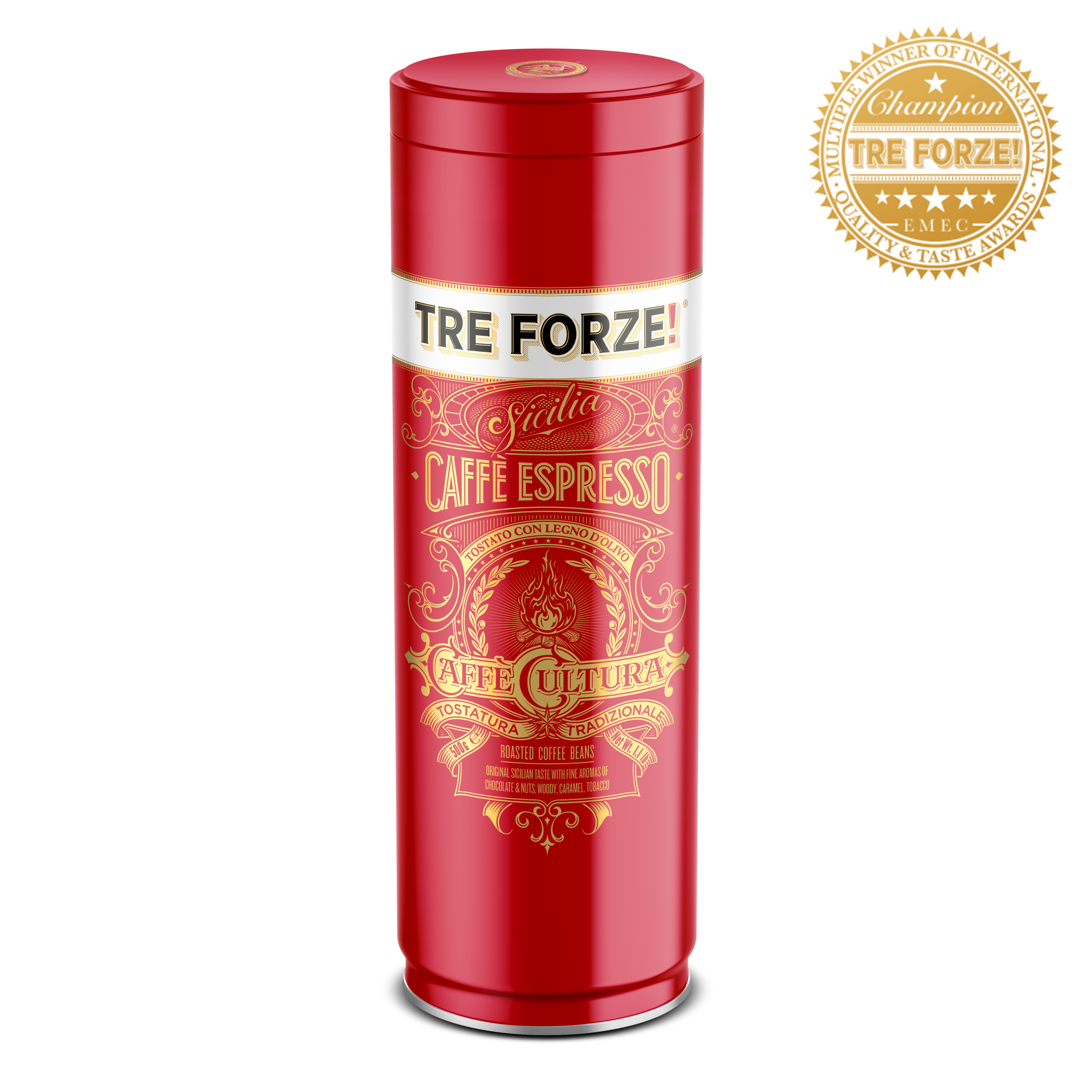 TRE FORZE! - Caffè Espresso - 500g Bohnen