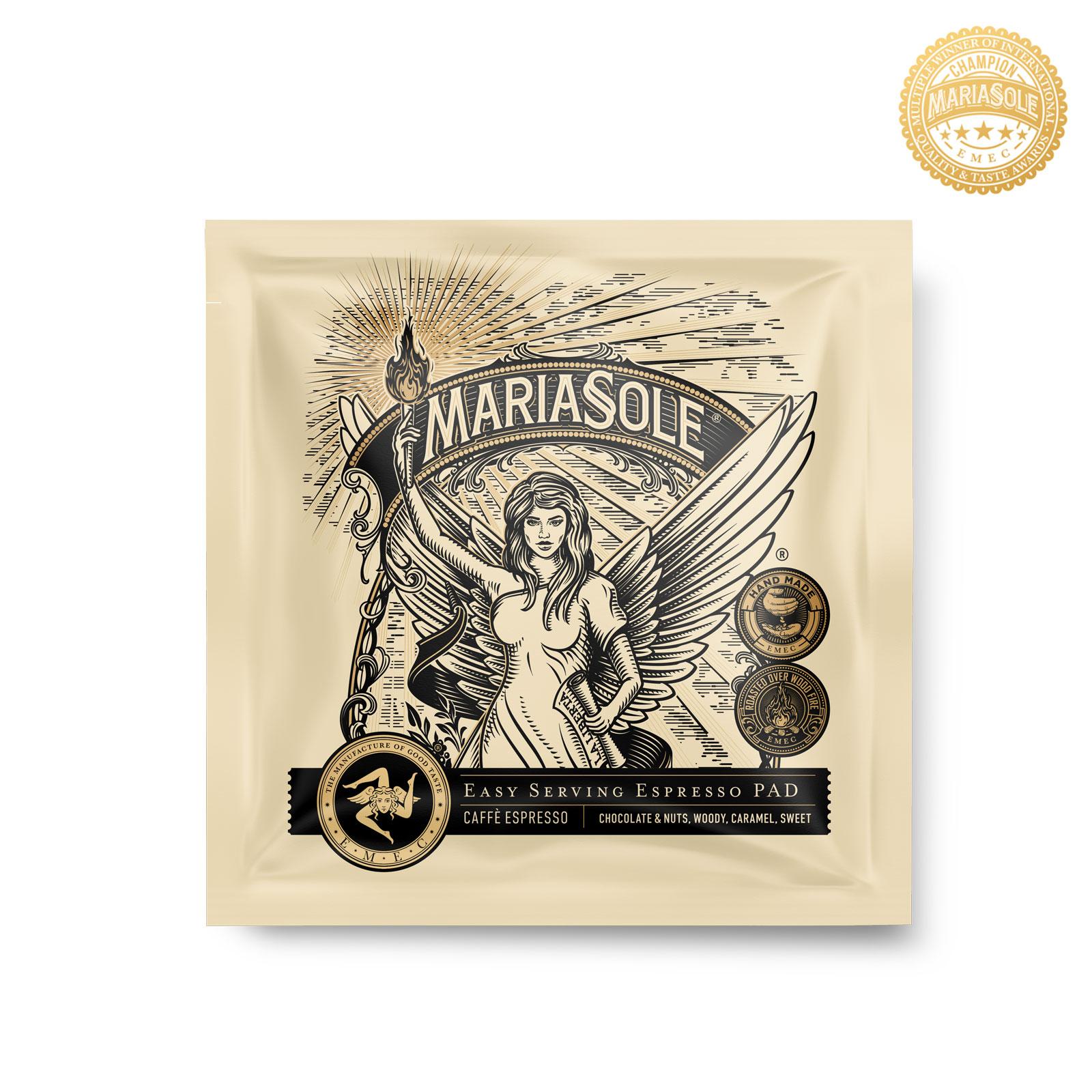 MARIASOLE- Caffè Espresso - E.S.E Pads