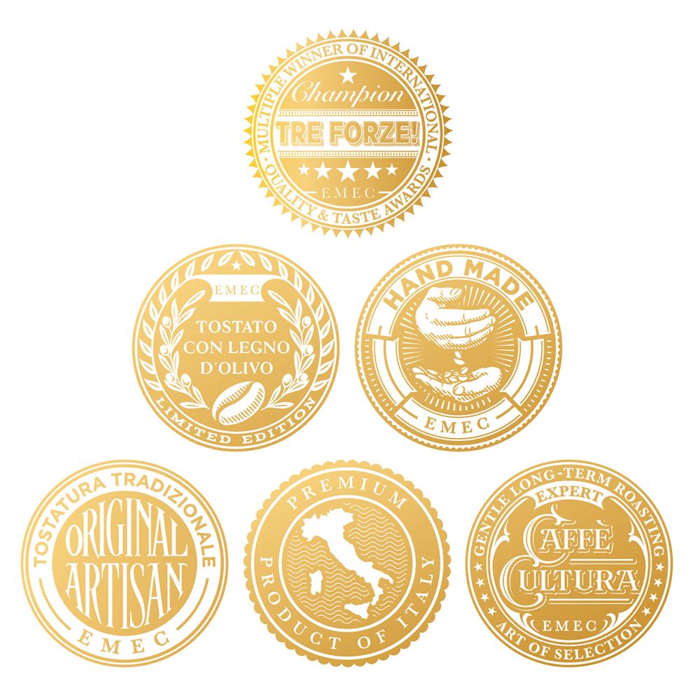 TRE FORZE! - Caffè Espresso - E.S.E Pads