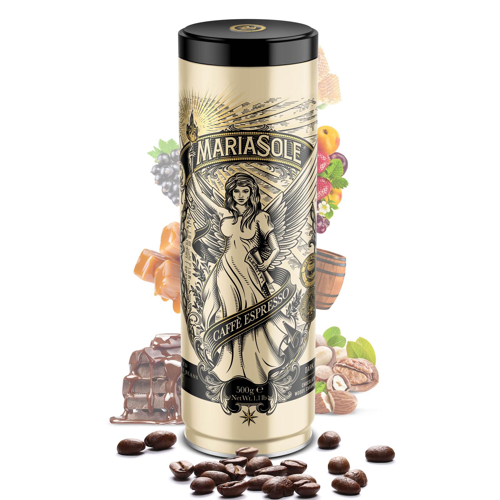 MARIASOLE - Caffè Espresso - 500g - Bohnen