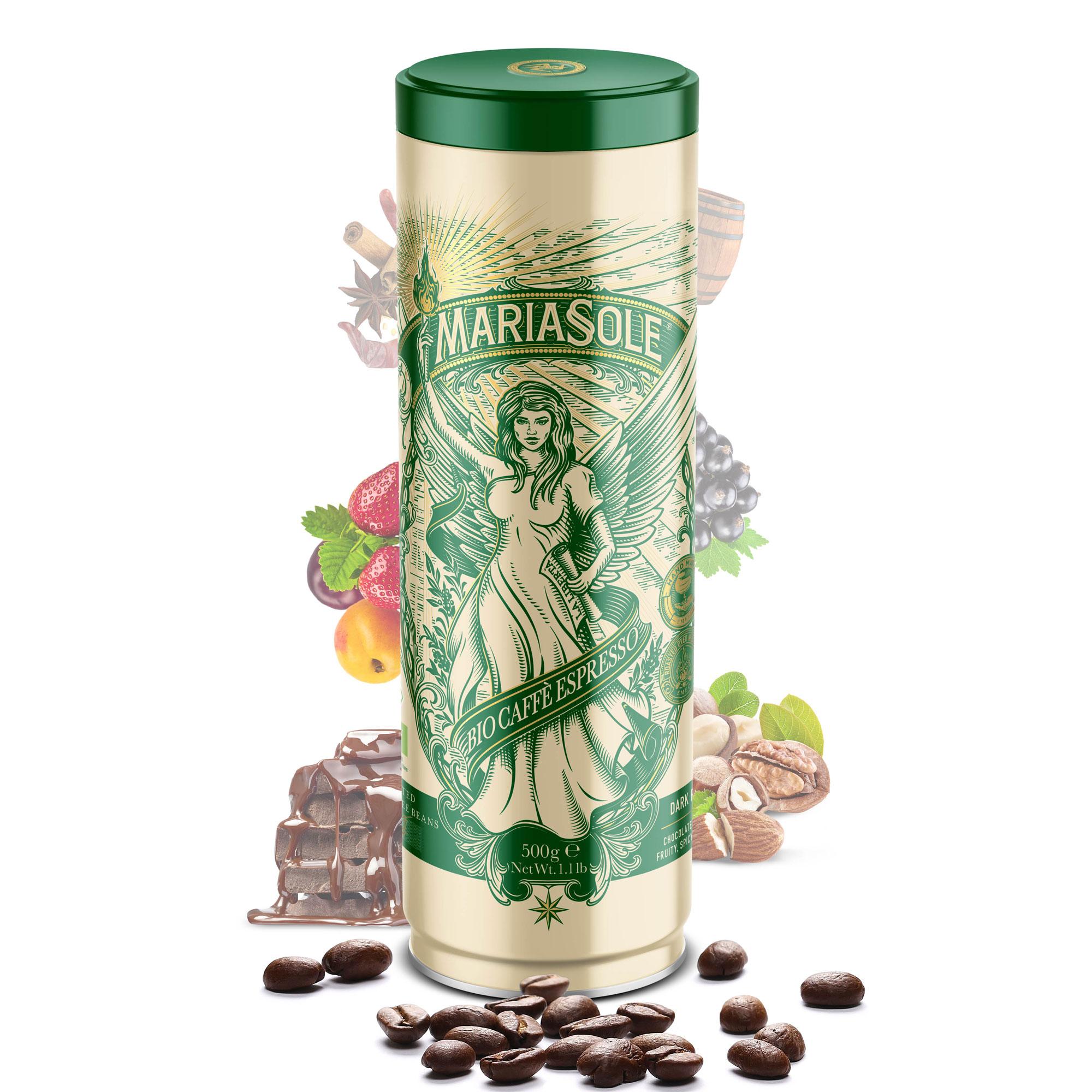 MARIASOLE - BIO Caffè Espresso - 500g - Bohnen