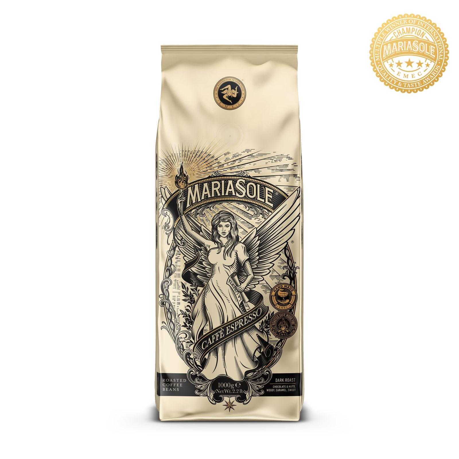 MARIASOLE - Caffè Espresso - 1000g - Bohnen