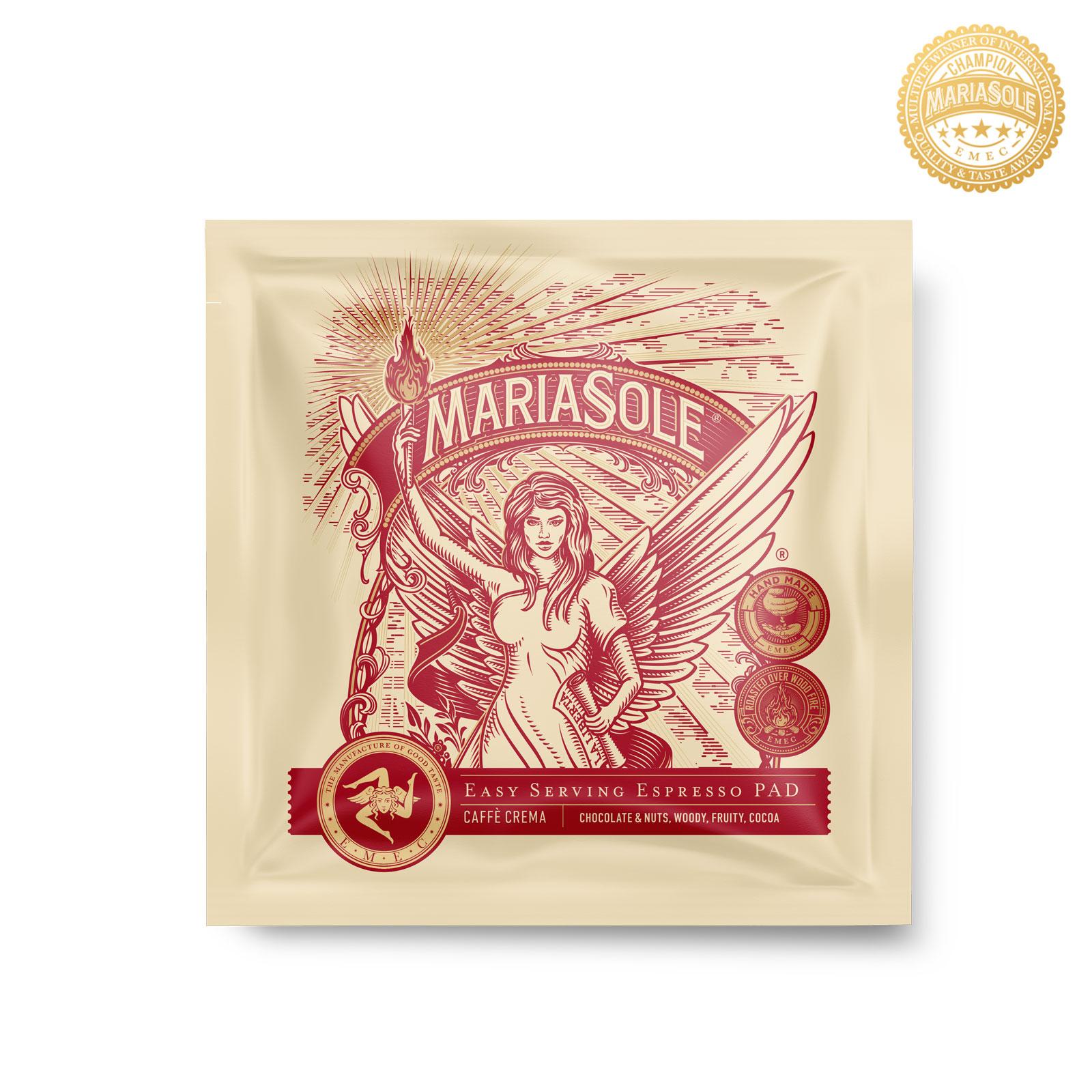 MARIASOLE - Caffè Crema - E.S.E Pads LUNGO
