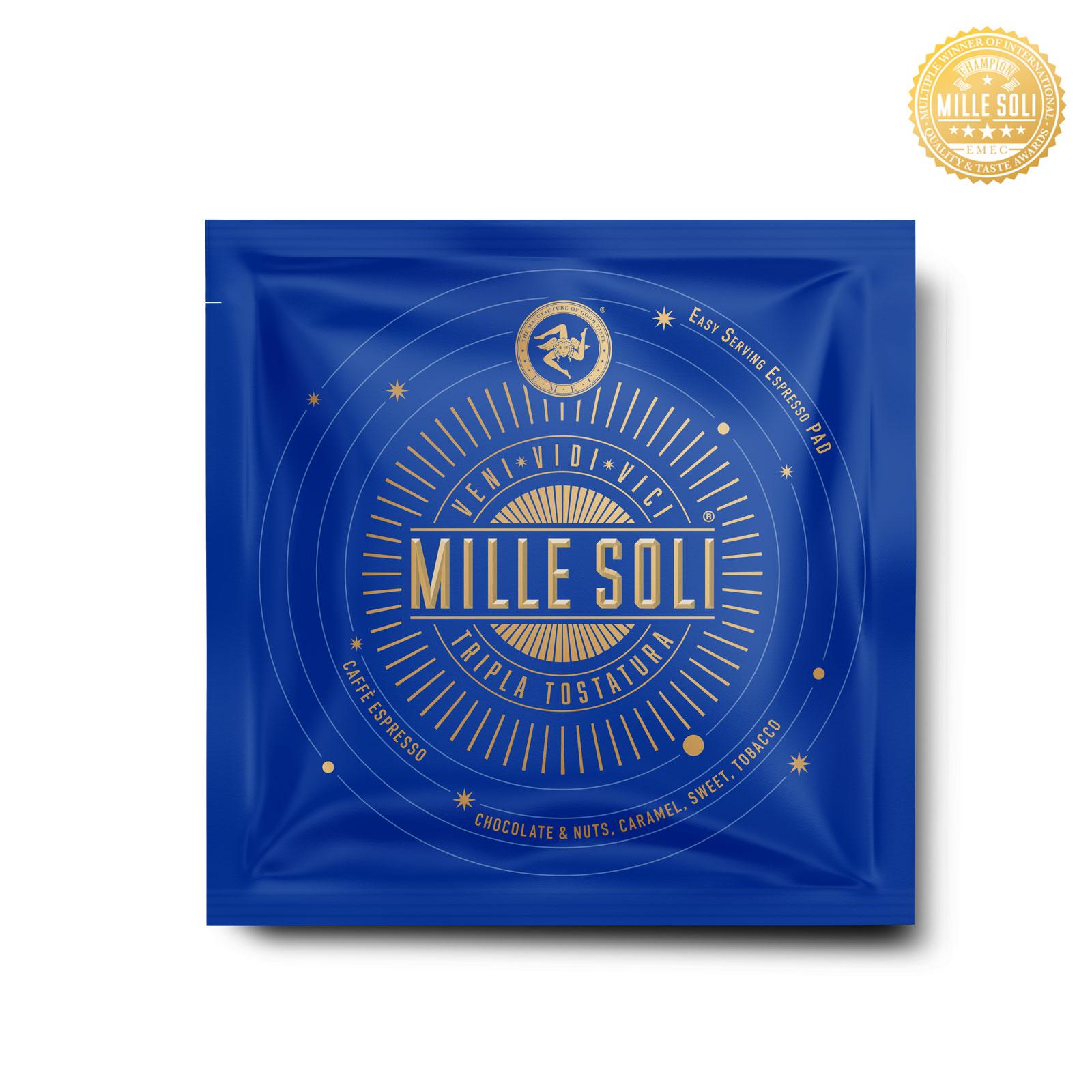 MILLE SOLI - Caffè Espresso - E.S.E Pads