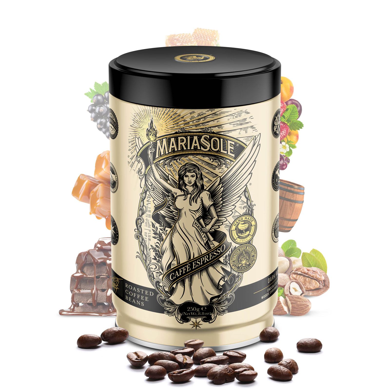 MARIASOLE- Caffè Espresso - 250g - Bohnen