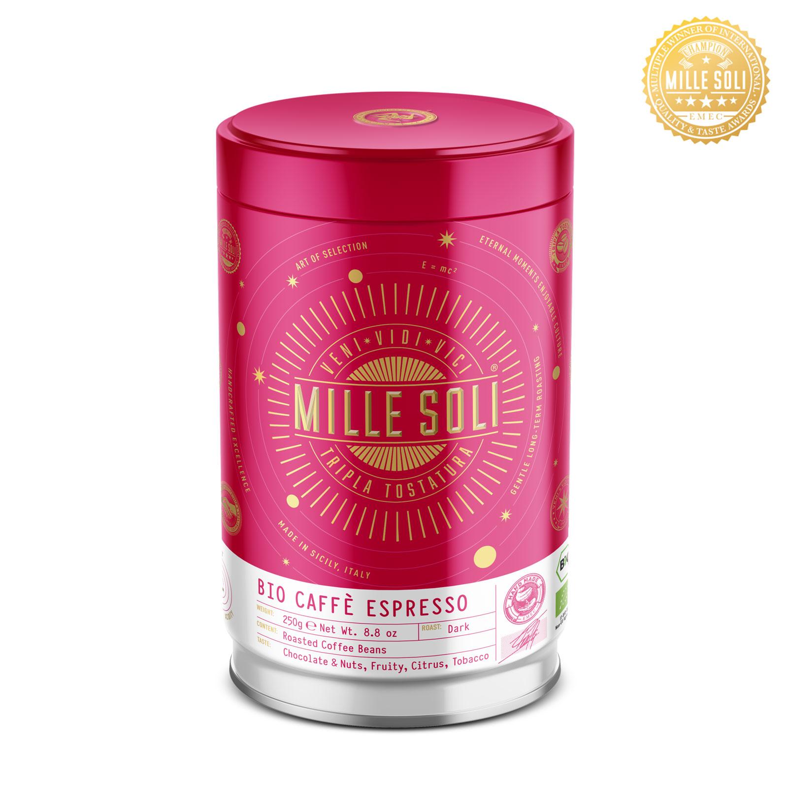 MILLE SOLI - BIO Caffè Espresso - 250g - Bohnen