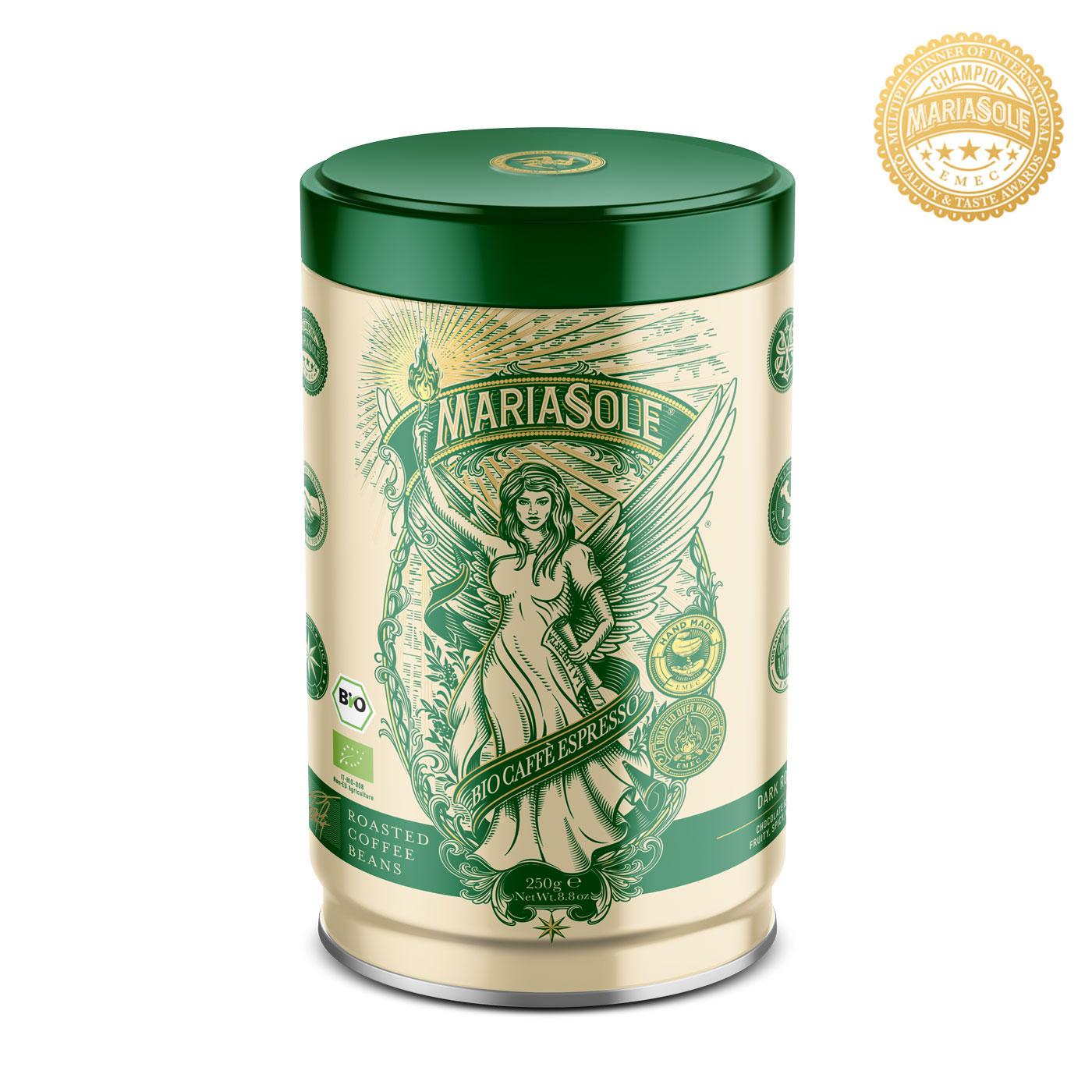 MARIASOLE - BIO Caffè Espresso - 250g - Bohnen